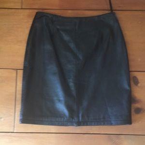 Vintage Wilson's leather skirt